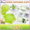 Hot Sale Kitchen helper 7/12pcs Salad Chef As Seen On Tv
