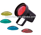 Pin spot light with color lense