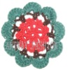 Crochet flower,cotton flower applique