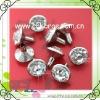 12mm crystal rhinestone leather rhinestone rivets