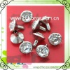12mm crystal rhinestone leather rhinestone rivets