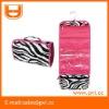 Zebra polyester Cosmetic Organizer