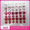 diy heart acrylic rhinestone sticker