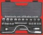 25pice socket set,,1/2''Drive