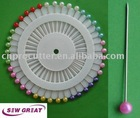 ball head pins(color head pin, sewing pin)