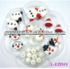 Fashion jewelry diy lampwork glass animal beads