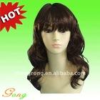 Super Pretty Stylish Brown Curl human hair wig