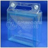 2013 Collection!The Cheapest Promotional Fashion Hot Sell Transparent PVC Bag With Handle(PBG-86)