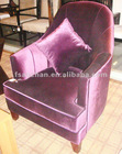 purple modern and fashionable AZ-S-309 round sofas