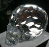 crystal human skull, crystal skull