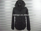 2012 high quality good look hot sales womens' coat.