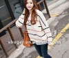 Casual Hot Sale Pocket Embellished Stripe Loose Sweater TQ12092701