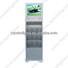 17'' restaurant/hotel lobby touch screen floor stand,tft lcd touch screen monitor,advertising kiosk touchscreen