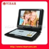 Portable DVD player with TV tuner and game function
