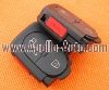 3 Button Remote Shell with PANIC for Audi