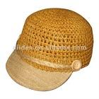paper braid baseball caps