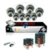 540TVL video security system with 8 CH CCTV DVR System 1TB