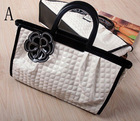 lady's leather handbag,fashion pu leather bag [cb030501]