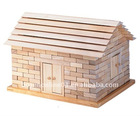 Wooden Bricks House toys