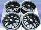 16 4x100 4x114.3 Black Prelude Neon Accord Eclipse Lancer Scion Xa Xb 4 Lug Rims