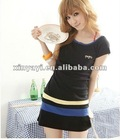 New Classic One-Piece Women Dress OL Style Short Sleeve