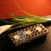 Q052-82 Chinese Handmade Rectangular Candle holder