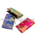 brocade fashion Ladies' Purse with coin wallet