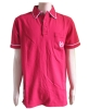 Men Red Pique polo most comfortable T-shirt tricot t-shirt