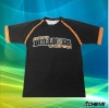 Sublimation black T-shirts for men