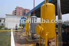 buffer tank ,blowdown and sewage tank for CNG refueling station