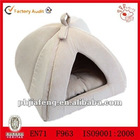 Manufactured plush pet house dog house