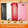 New Snake Embossed Back Cover Leather Case Of TPU For Samsung i9220 LF-0451 CH