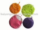 Microfiber chenille sponge