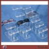 Step-liked clear acrylic/PMMA sunglasses/eyewears holder/display rack