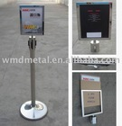 A4-P signage frame, message board, poster holder,retractable belt stand,extenda barrier,retracta post