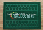PVC wire drawing door mat with logo printing