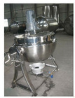 Liquefied gas heating mezzanine pot