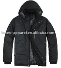 Plain Black Zip Jacket for Women