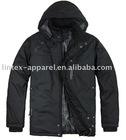 Plain Black Zip Jacket for Women