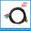black&red HDMI to 3RCA line