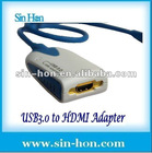 1080P 2048*1152USB3.0 to HDMI graphic card