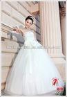 2012 new trend big petticoat island bridal dress