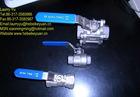 2-pc stainless steel ball valves