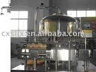 Glass bottle three and four spiraling cap production line