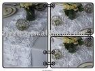 Satin Ribbon Rosette Wedding Table Runner