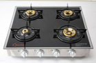Tempered glass top four burners table gas hob B-4301A