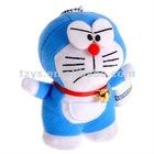 high quality polyester fabric fashion doraemon toy