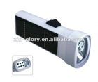 SMALL PORTABLE chargeable Solar Camping light TORCH