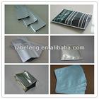 Aluminium foil bags for food packing