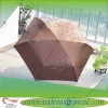 "21""*6K brown promotion gift umbrella SH-AU830"